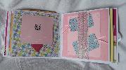Ръчно изработен бебешки албум за момиче