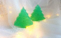 Ръчно изработен коледен сапун Christmas Tree