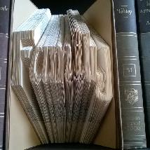 Ръчно изработен подарък-арт книга декорация за дом къща интериор