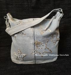 Ръчно изработена дънкова чанта