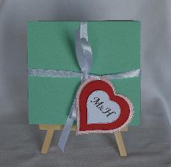 Ръчно изработена картичка за паричен подарък