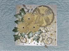 Ръчно изработена картичка