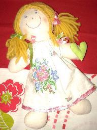 Ръчно изработена уникална кукла