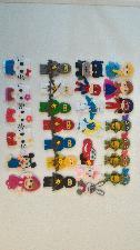 Ръчно изработени анимационни герои от филц 5-6 см.