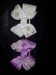 Ръчно изработени детски закачливи панделки за коса