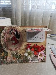 Ръчно изработени картички с кутия