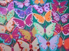 Ръчно изработени пеперуди от филц