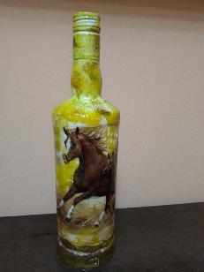 Ръчно изработени стъклени шишета