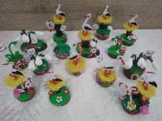 Ръчно изработени сувенири за Баба Марта