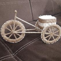 Ръчно направени колела от канап
