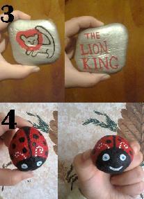 Ръчно нарисувани камъчета