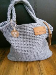 Ръчно плетена дамска чанта
