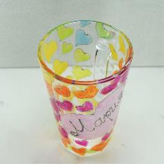 Ръчно рисувана чаша с име