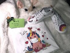 Ръчно рисувана детска тениска