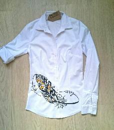 Ръчно рисувана риза