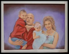 Ръчно рисувани портрет или карикатура по снимка