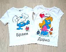 Ръчно рисувани тениски