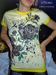 Рисувани тениски by SiDona