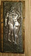Романс - релфна картина от метал