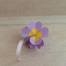 Сърце-цвете за Св. Валентин