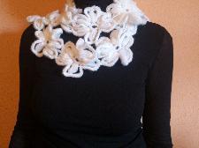 шал-бижу от цветя