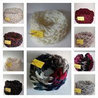 Ръчно изплетени шалове