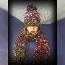 Шапка ръчна изработка. Шапка ръчно плетиво. Плетена шапка. Шапка Handmade. Зимна шапка