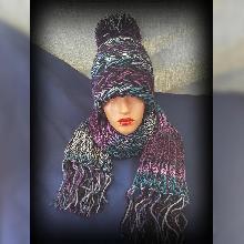 Шапка ръчна изработка. Плетена шапка. Шапка ръчно плетиво. Оригинална шапка handmade.