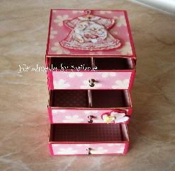 Скринче за бебешки съкровища