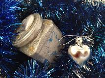 Стъклен буркан- Сребърна любов