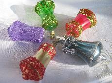 Стъклени играчки за елха