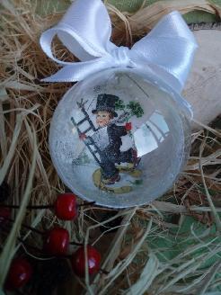 Стъклени топки за елха