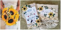 Сватбена картичка и плик за пари