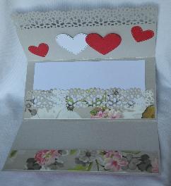 Сватбена картичка плик за паричен подарък