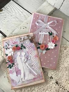 Сватбени Картички ръчна изработка