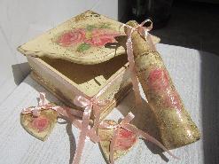 Сватбени винтидж аксесоари и декорации - комплект