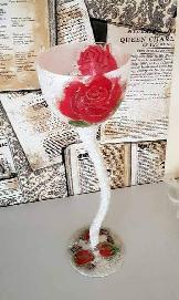 "Свещник ""Роза"""