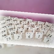 Табелки за маса