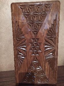 Табла за игра с ръчна дърворезба