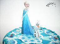 """Торта от картон """"Замръзналота кралство"""""""