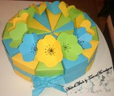 Торта от картон