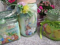 Великденски буркани