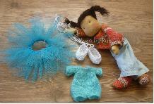 Виктория-текстилна кукла