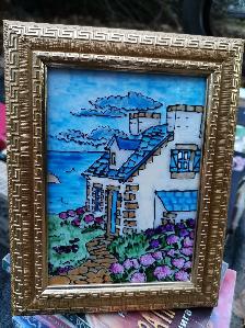 Витражи, картини, рисунки на стъкло, стъклописи