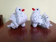 Влюбени гълъбчета