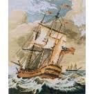 Завръщането,Буря над рифа и фрегатата