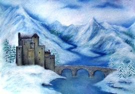 """Картина """"Замъкът II"""""""
