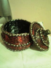 Бонбониери - червено и черно